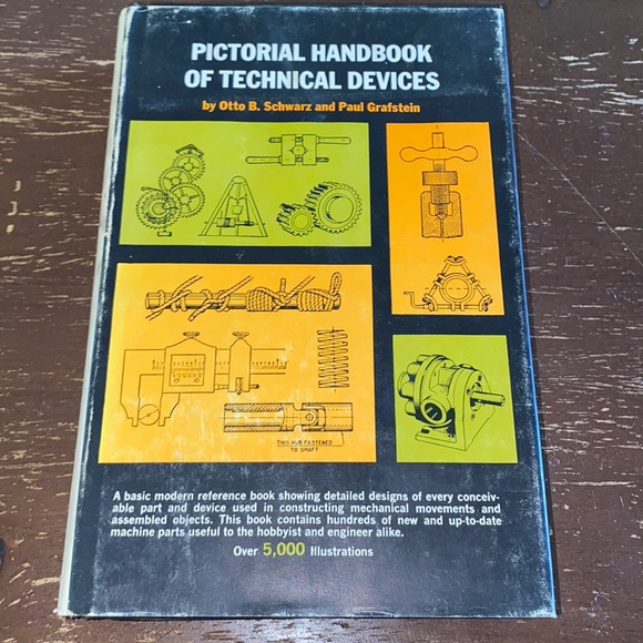 📚4/$10📚 Pictorial Handbook of Technical Devices